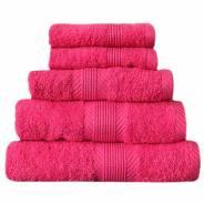 pink towels