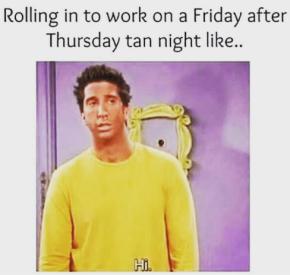 Tan night meme